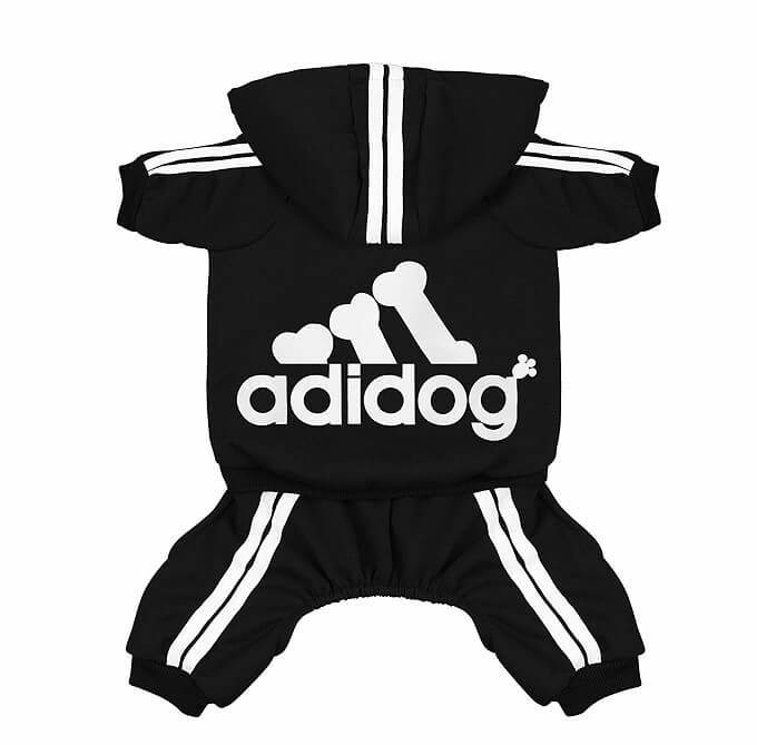 Scheppend Adidog Hoodies Dog Costume