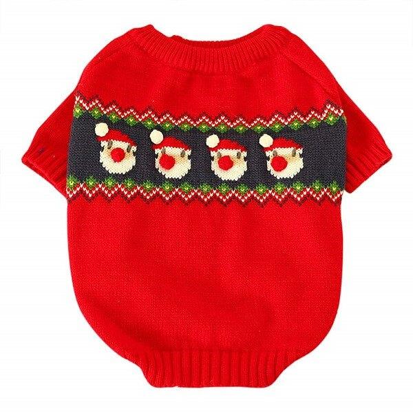 Bambus Fashion Pet Keep Warm Christmas Sweater