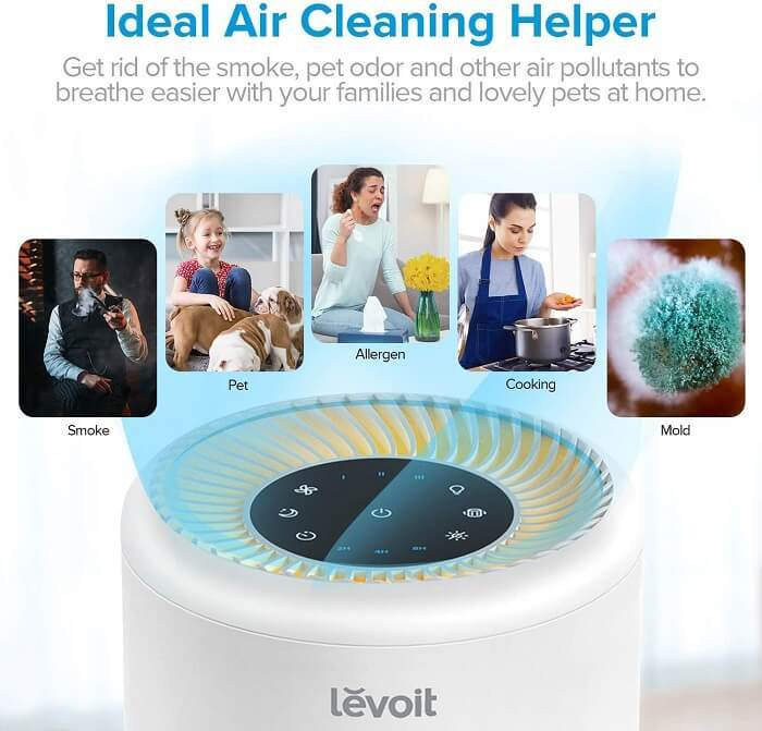 Air purifier keeps you away from various pollutants