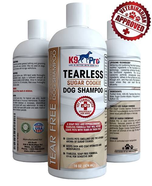Best Hypoallergenic Tearless Anti Itch Vet Formula For Dogs With Allergies And Dry Itchy Sensitive Skin
