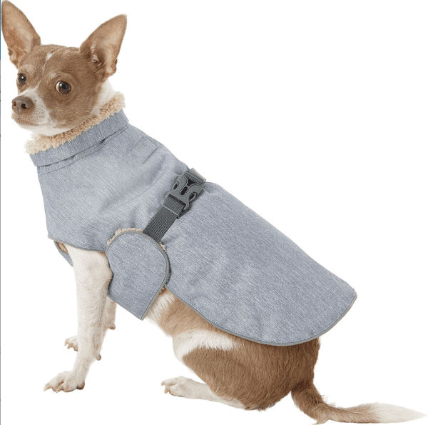 Frisco Fairbanks Fleece-Lined Dog Wrap Coat