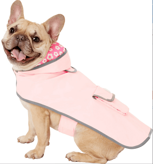 Frisco Reversible Travel Dog Raincoat