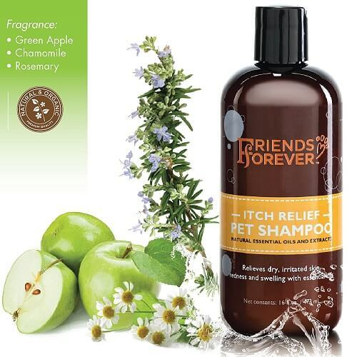 Natural Dog Shampoo Best for Dry Itchy Skin