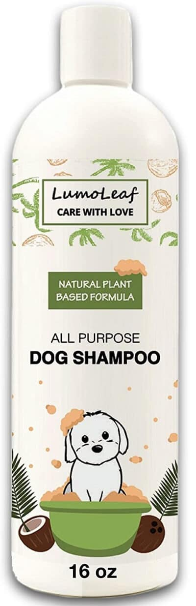 Natural Dog Shampoo with Coconut Palm Oatmeal Aloe, Promotes Healthy Hair, Helps Dry Itchy Skin
