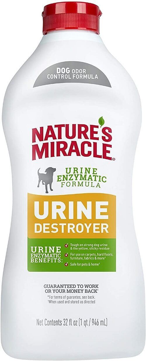 Nature's Miracle Urine Destroyer Formula Stain & Residue Eliminator
