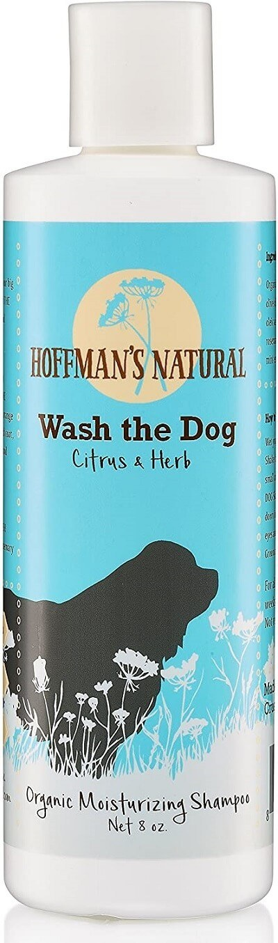 Organic Dog Shampoo for Dry, Itchy or Allergy Sensitive Skin