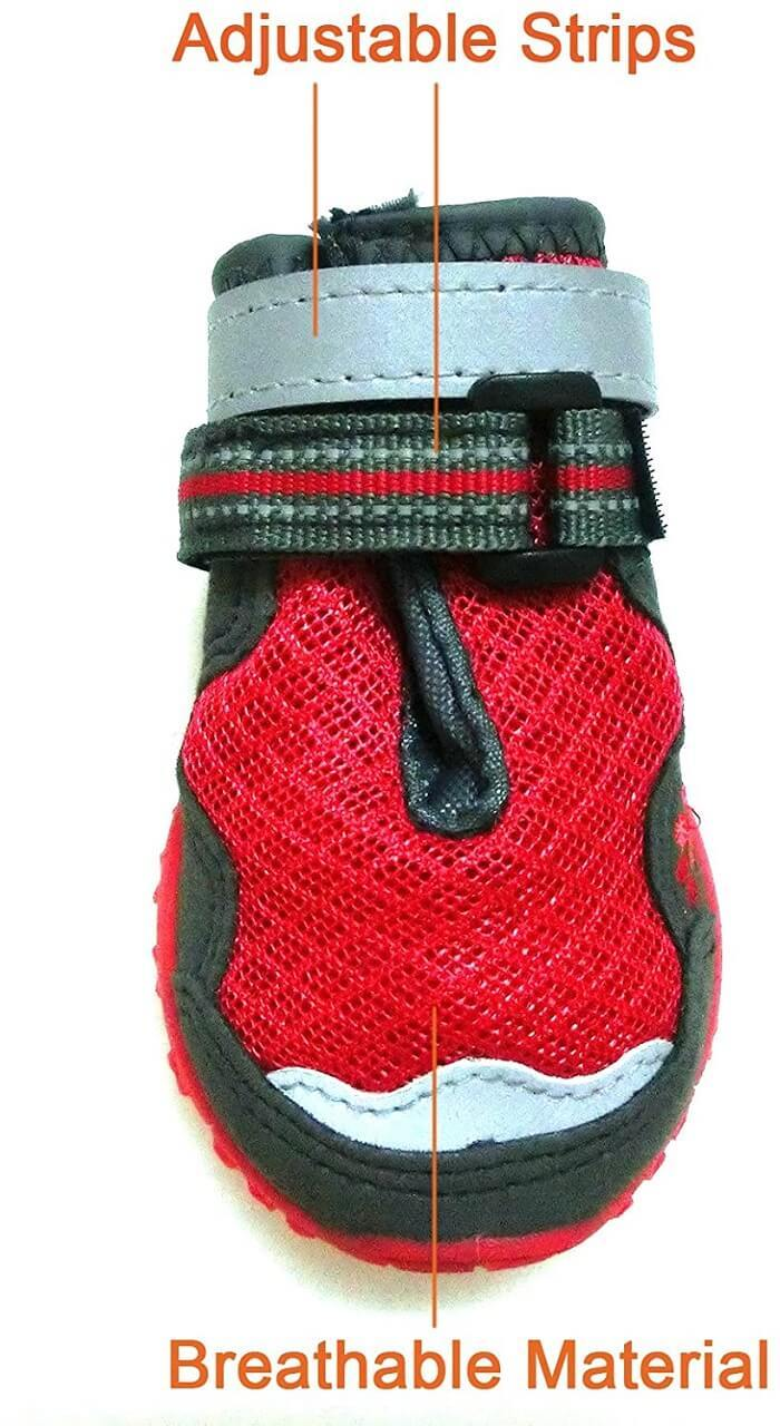 Xanday Breathable Dog Boots