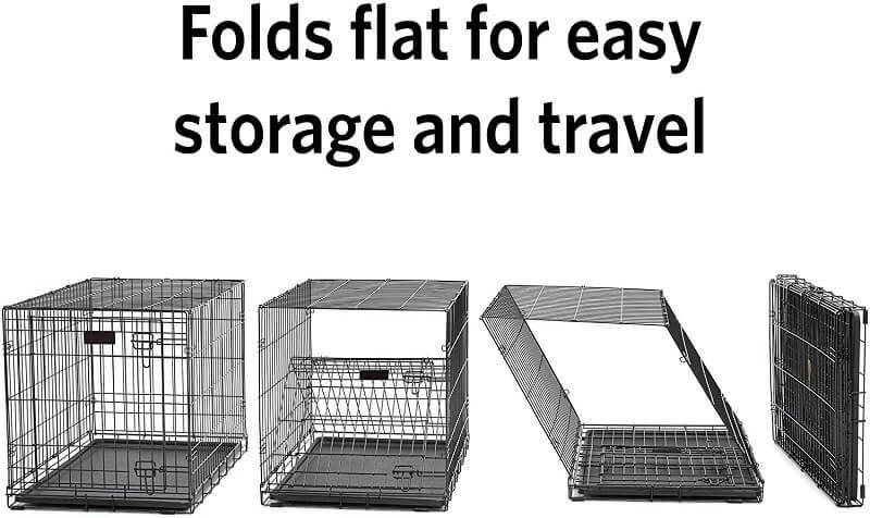 Folds flat for easy storage and travel