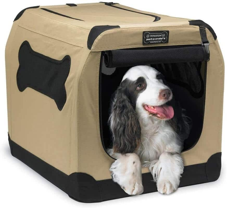 PetNation Indoor and Outdoor Dog Crate